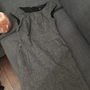 Banana republic wool blend dress